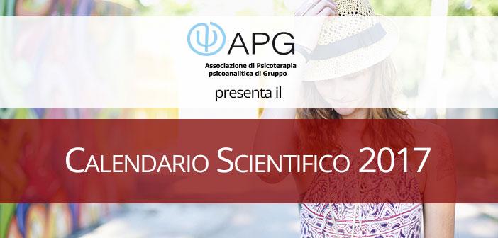 Nuovo Calendario Scientifico Apg 2017 – tutti gli incontri del 2017