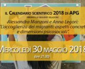 Mercoledì 30 maggio 2018 – Calendario Scientifico 2018
