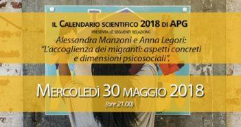 Alessandra Manzoni e Anna Legori L'accoglienza dei migranti: aspetti concreti e dimensioni psicosociali