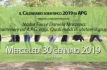 """Mercoledì 30 gennaio ore 21.00 Nadia Fina e Daniela Marzana: """"Appartenere ad A.P.G. oggi. Quali modi di abitare il gruppo?"""""""