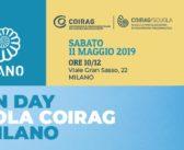 OPEN DAY SCUOLA COIRAG DI MILANO – 11 maggio 2019