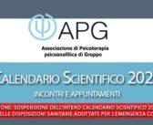 Apg Calendario Scientifico 2020