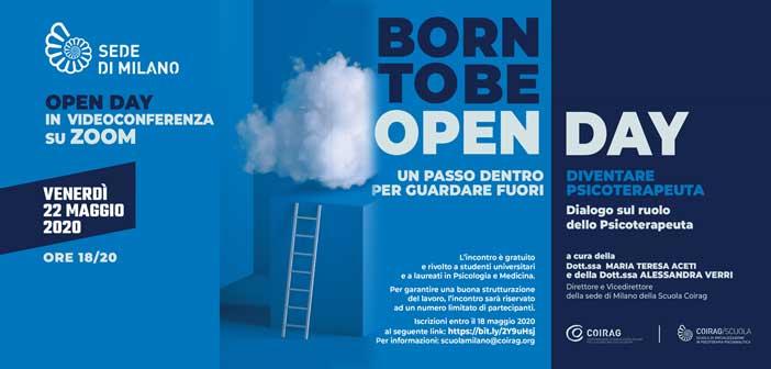Coirag Milano:  OPEN DAY in videoconferenza su ZOOM