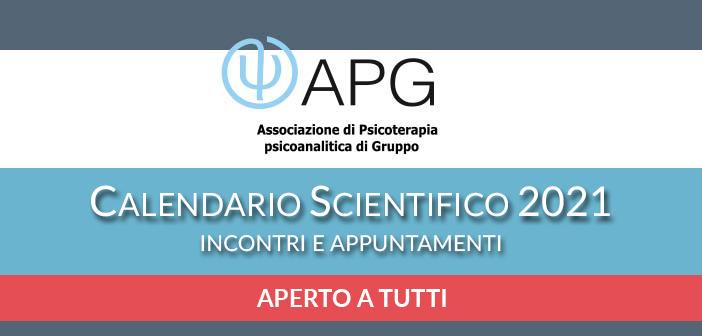 APG calendario scientifico 2020 covid
